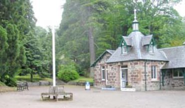 Strathpeffer Spa Pump Room - Tourist Information Centre situated within the Pump Room
