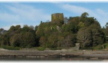 dunollie castle, oban